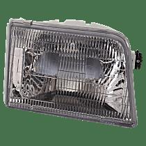 Passenger Side Halogen Headlight, With bulb(s), CAPA CERTIFIED