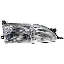 Passenger Side Headlight, With bulb(s) - USA Built Model, CAPA CERTIFIED