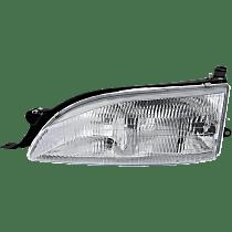 Driver Side Headlight, With bulb(s) - USA Built Model