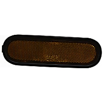 Front, Driver or Passenger Side Bumper Reflector