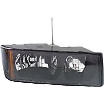 Passenger Side Halogen Headlight, With bulb(s) - Clear Lens