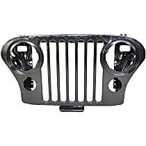 Grille, Painted Black