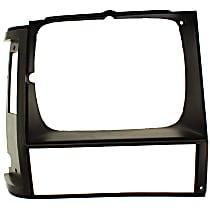 Passenger Side Headlight Door, Gray