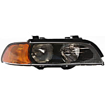 Passenger Side Headlight, With bulb(s) - (98-00 528i 540i 2000-00 M5) w/o Leveling