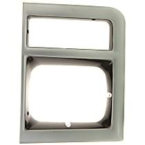 Passenger Side Headlight Door, Primed
