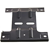 Front, Driver Side Bumper Bracket - Mounting Plate, 2WD w/o Lightning Model