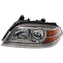 Driver Side Headlight, Without bulb(s) - Clear Lens