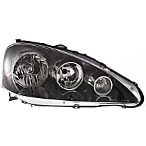 Passenger Side Headlight, Without bulb(s), CAPA CERTIFIED