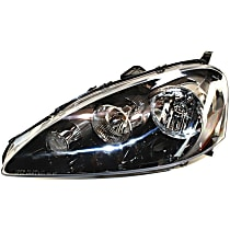 Driver Side Headlight, Without bulb(s), CAPA CERTIFIED