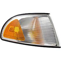 Passenger Side Corner Light, Without bulb(s)