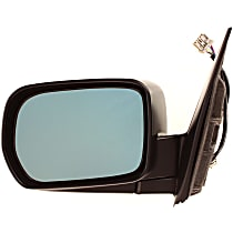 Heated Mirror - Power Glass, Manual Folding, Without memory, Paintable