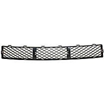 Center Bumper Grille, Textured Black