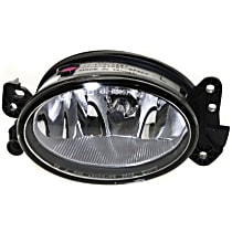 Front, Driver Side Fog Light, With bulb(s) - w/o AMG Styling Pkg., For Models w/ HID Headlamp