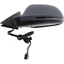 Driver Side Mirror - Power Folding, In-housing Signal Light, Paintable