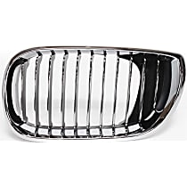 Driver Side Grille, Chrome