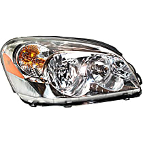 Passenger Side Headlight, With bulb(s) - CX Model, Clear Lens