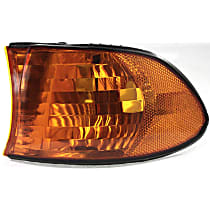 Driver Side Parking Light, Without bulb(s)