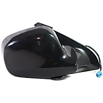 Passenger Side Heated Mirror - Manual Folding, Without Signal Light, Without memory, Paintable