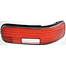 ReplaceXL Tail Light Lens - C730101 - Passenger Side, Red, Plastic, Direct Fit, Sold individually
