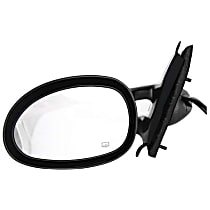 Driver Side Heated Mirror - Power Glass, Non-folding, Without Signal Light, Without memory, Paintable