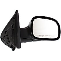 Passenger Side Non-Heated Mirror - Manual Glass, Manual Folding, Without Signal Light, Without memory, Paintable