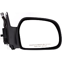 Passenger Side Non-Heated Mirror - Manual Glass, Non-folding, Without Signal Light, Without memory, Paintable