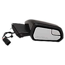 Passenger Side Non-Heated Mirror - Without Signal Light, Paintable