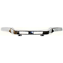 CAPA Certified Front Bumper - Fits Models Without Fog Light Holes