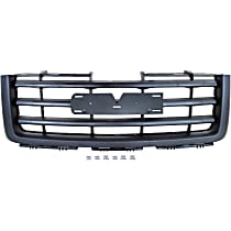 NSF Certified Grille, Textured Black Shell and Insert