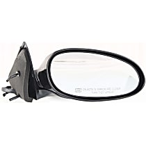 Passenger Side Heated Mirror - Power Glass, Manual Folding, Without memory, Paintable