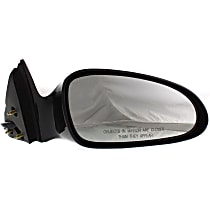 Passenger Side Heated Mirror - Power Glass, Non-folding, Without memory, Paintable