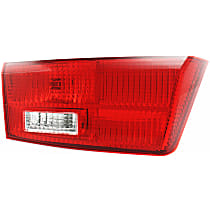 CAPA Certified Driver Side, Inner Tail Light, With bulb(s)