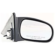 Passenger Side Non-Heated Mirror - Power Glass, Non-folding, Without Signal Light, Without memory, Textured Black