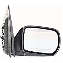 Passenger Side Non-Heated Mirror - Power Glass, Manual Folding, Without Signal Light, Without memory, Textured Black