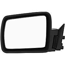 ReplaceXL Power Mirror, Driver Side, Non-Folding, Non-Heated, Paintable