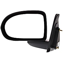 ReplaceXL Manual Mirror, Driver Side, Manual Folding, Paintable