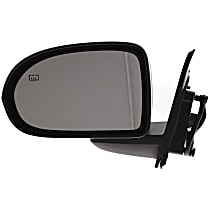 ReplaceXL Power Mirror, Driver Side, Manual Folding, Heated, Paintable