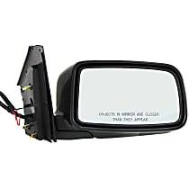 ReplaceXL Power Mirror, Passenger Side, ES Model, Sedan, Manual Folding, Non-Heated, Paintable