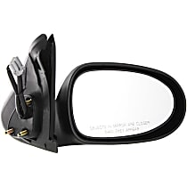 Passenger Side Non-Heated Mirror - Power Glass, Non-folding, Without memory, Paintable