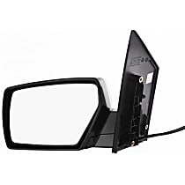 ReplaceXL Power Mirror, Driver Side, Manual Folding, Non-Heated, Paintable
