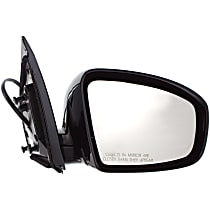 ReplaceXL Power Mirror, Passenger Side, LE/S/SL/SV Models, and Manual Folding, Heated, w/o Memory, Paintable