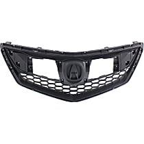 Grille, Textured Black; Fits 16-17 Acura RDX