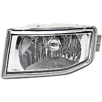 CAPA Certified Front, Driver Side Fog Light, Without bulb(s)