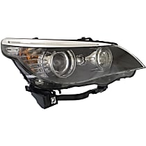 Passenger Side HID/Xenon Headlight, Without bulb(s) - Sedan / Wagon - For Models w/ Xenon Light & Adaptive Headlghts