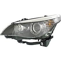Driver Side HID/Xenon Headlight, Without bulb(s) - Sedan / Wagon - For Models w/ Xenon Light & Adaptive Headlghts