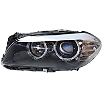 Driver Side Headlight, With bulb(s) - Sedan Models With Auto Adjust Clear Lens