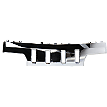 Front Skid Plate, Chrome, Direct Fit
