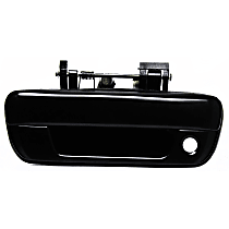 Tailgate Handle, Smooth Black