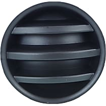 Driver or Passenger Side Fog Light Cover, Textured Black