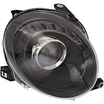 Passenger Side Headlight, With bulb(s) - Hatchback, Clear Lens